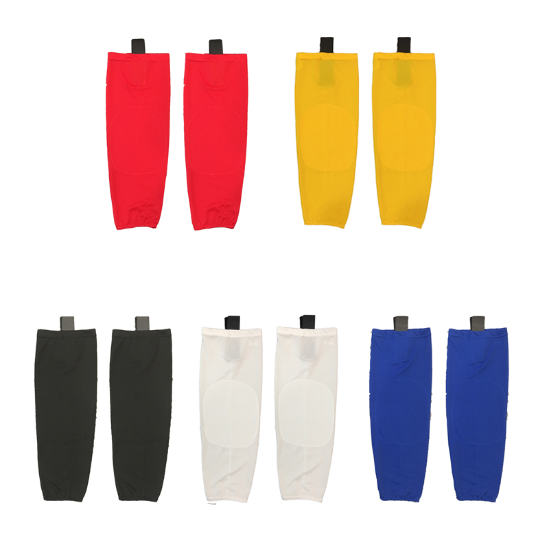 100 polyester Single Color Ice Hockey Socks Equipment Custom Team Sport Support Can Custom As Your