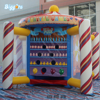 In Stock Inflatable carnival game inflatable interactive game inflatable ball throwing game