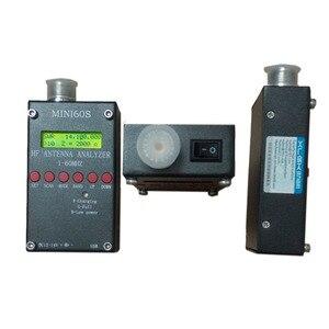 Image 4 - 새로운 블루투스 안드로이드 hf 개미 swr 분석기 1 60 mhz mini60 usb 높은 precison mini60s 안테나 미터 햄 라디오 C4 006