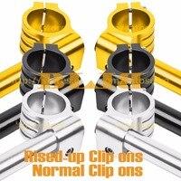 CNC Universal 36mm Für Kawasaki KXT-250 KLX-250 A1 A2 KX-250 Eine A1 A2 A3 A4 Hot Clip On Lenker Normal/Rised-up Griff Bars
