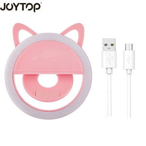 Image 2 - USB charge Selfie Ring Light Portable Flash Led Camera Phone Enhancing Photography for iPhone smartphones selfie light