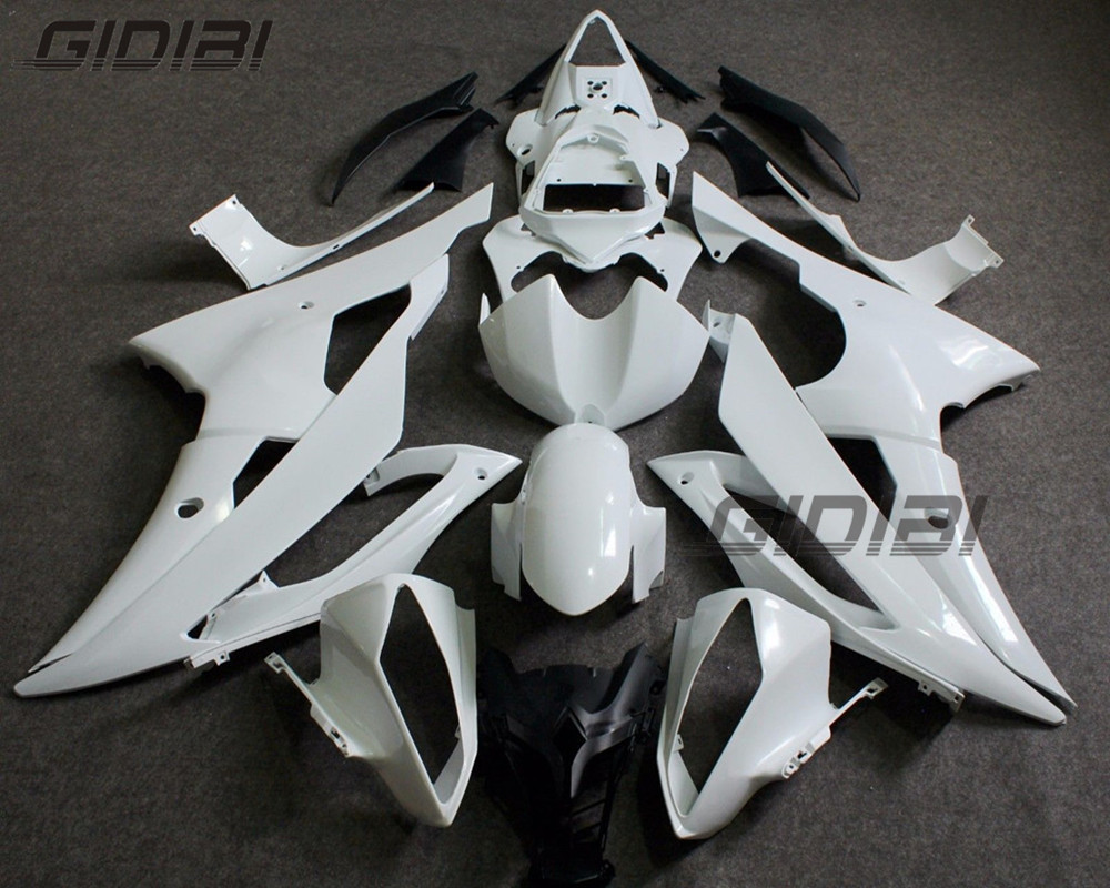 Unpainted ABS Injection Bodywork Fairing Kit For YAMAHA YZF R6 2008 2014 09 10 11 12 13 +4 Gift