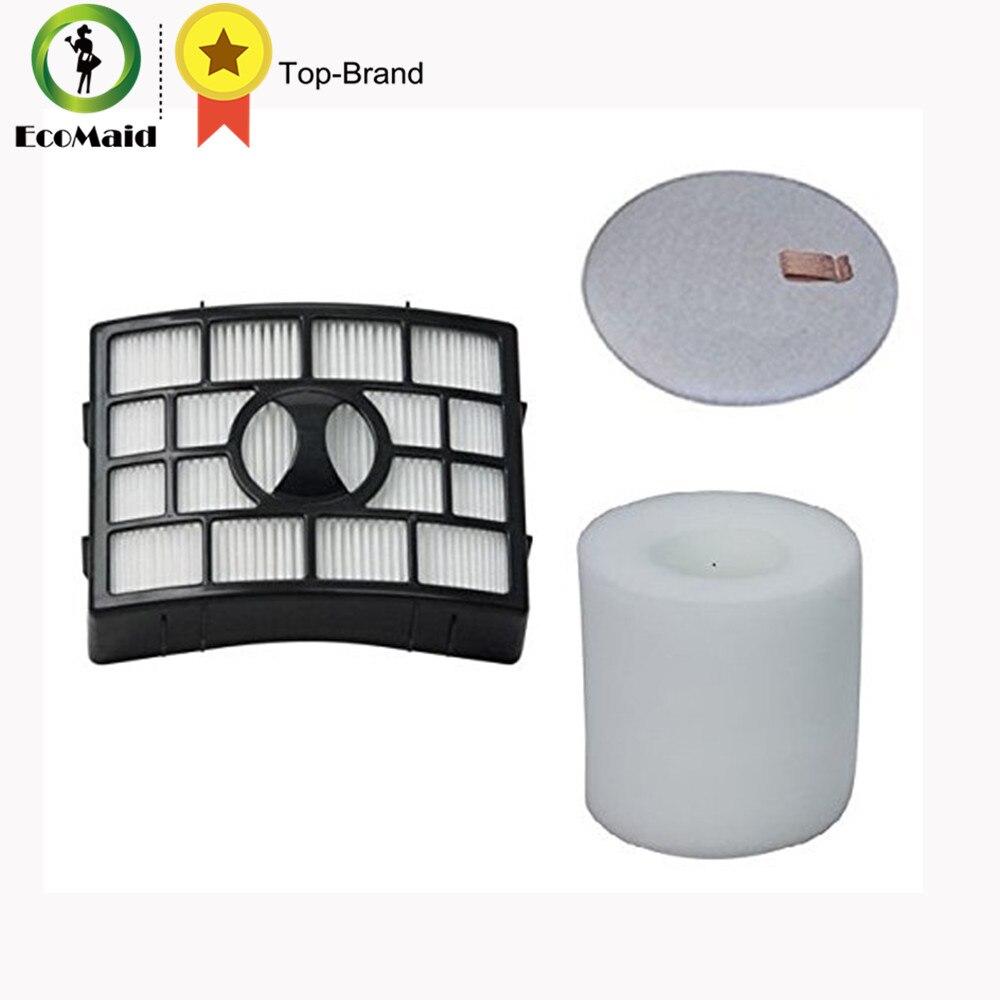 For Shark Rotator Foam Felt Filter Compatible for NV650 NV650W NV651 NV750W NV751 NV752 1 HEPA Filter and 1 Foam & Felt Filter.  rotator