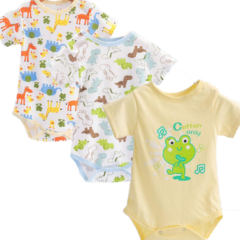 3 pcs/set Baby Bodysuits Newborn Baby's Sets Body Underwear Infant Boys Girls Clothing set pure Cotton Baby Accessories