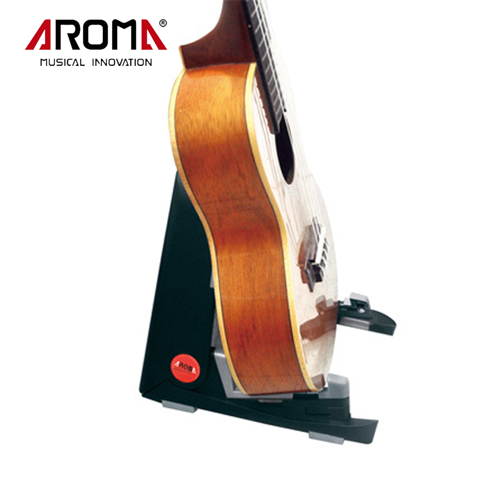 Aroma AUS-02 Foldable Instrument Stand Bracket Mount Holder A-Frame Design For Ukelele Violin Mandolin Space-Saving