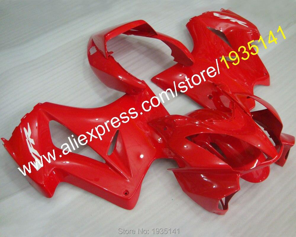 Горячие продаж,популярные мотоцикл послепродажного комплект для Honda ПВП 800 VFR800 2002-2012 02-12 целый набор красный Зализа (литья под давлением)