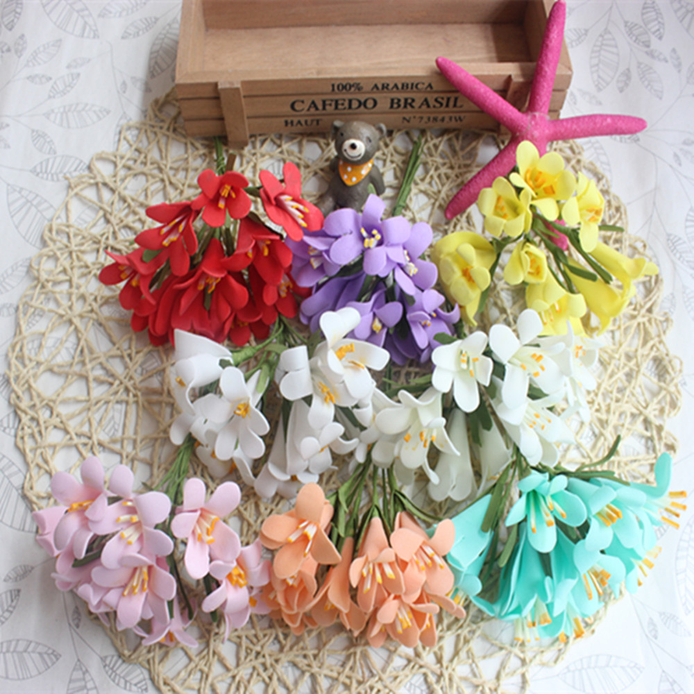 10pcs Wreath Of Diy Wedding Decoration Tire Hair Accessories
