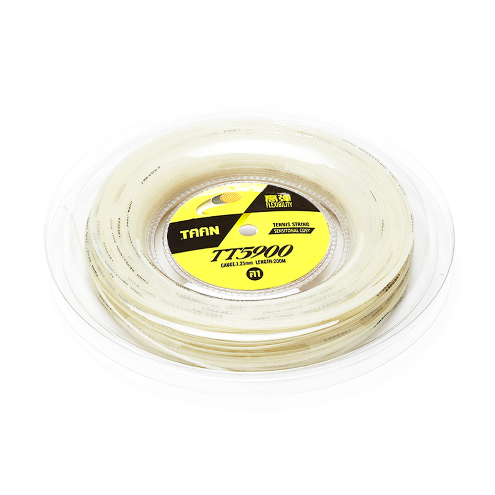 TAAN TT5900 sensitonal cosy 200m Synthetic Gut tennis String