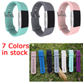 Wholesale FOR fitbit charge 2 band strap Diamond Silicone watchbands For Fitbit charge 2 bracelet smart wristbands COMLYO