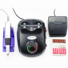 20W 35000RPM Nail Drill Electric Manicure Machine Art Apparatus Equipment File Cutter For