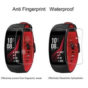 Image 3 - נגד שריטות רך TPU Ultra HD ברור מגן סרט עבור Samsung Gear Fit 2 פרו עבור ציוד Fit2/פרו מלא מסך מגן כיסוי