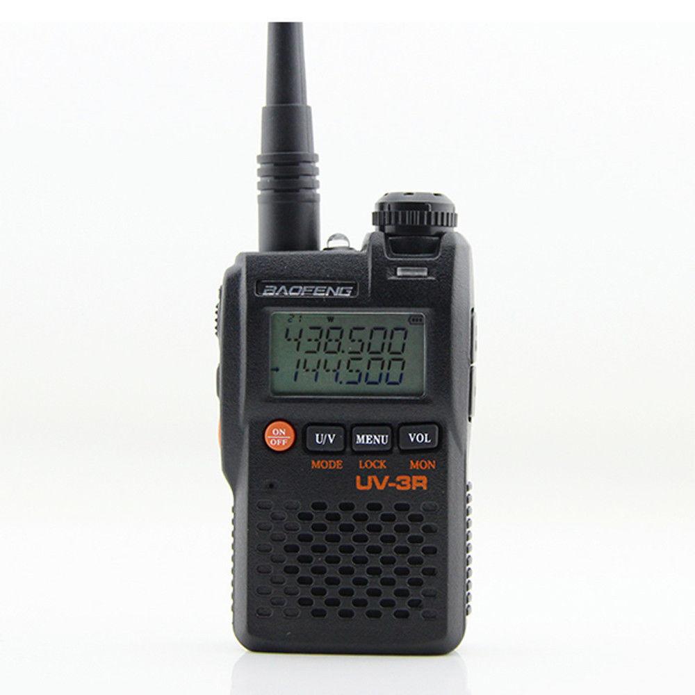 BaoFeng UV-3R Walkie Talkie UV 136-174&400-470MHZ With 1500mAh Battery UV3R Portable Radio