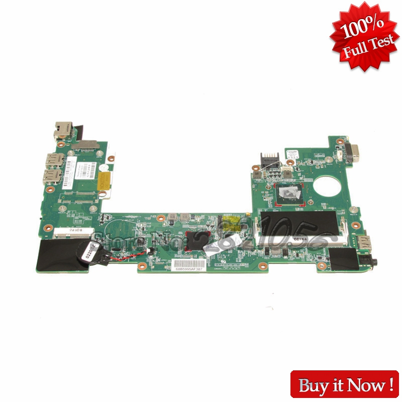 NOKOTION 627756-001 Laptop Motherboard For HP Mini 210-2000 PC Main Board with N455 CPU Onboard DDR3 nokotion 744189 001 745396 001 main board for hp 215 g1 laptop motherboard ddr3 with cpu zkt11 la a521p warranty 60 days