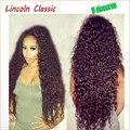 150 высокой плотности вьющиеся бразильские glueless перед парики человеческих волос бразильский полный парики полный человеческий парик с волосами младенца