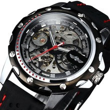 Mechanical Watch Men Cool Fashion Military Male Skeleton Stylish Silicone Sport Analog Quartz Daytona AP Bentley Fashion gift