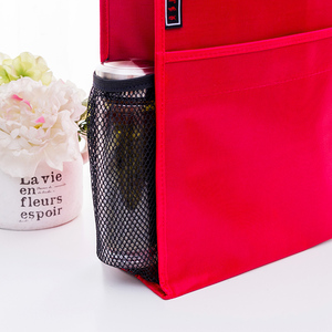 Image 4 - 4 색 휴대용 파일 가방 a4 학생 교과서 데이터 파일 포켓 다기능 방수 휴대용 office 파일 가방 캔버스 가방