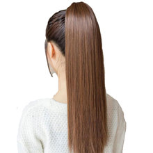 HiDoLA Ponytail long section synthetic clip ponytail hair extension wig Headwear 1 order 1 55 ponytail