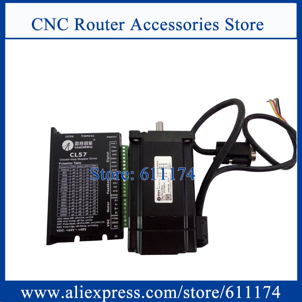 US $155 0 |Leadshine 2 phase 57CME21X + CL57 2 1N m closed loop stepper  motor and driver-in Stepper Motor from Home Improvement on Aliexpress com |