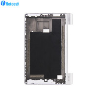 Netcosy For Lenovo B6000 Sliver LCD Front Frame Middle Bezel LCD Housing Case Replacement Parts For