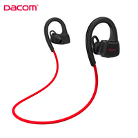 IPX7 Waterproof Bluetooth Earphones For Runner Sports Swimming Dacom P10 Wireless Stereo Earbuds Headset For Music