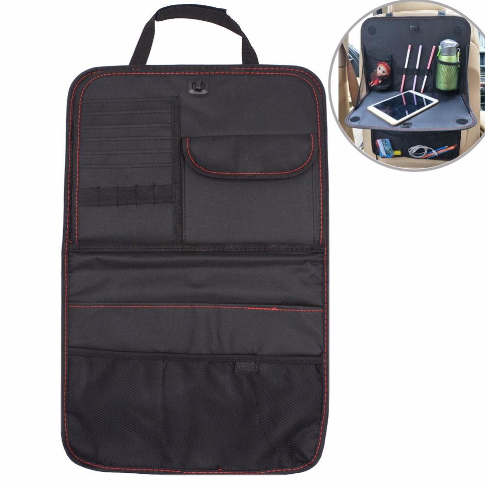 Car Seat Back Organizer Cover Auto Seat Back Multi-pocket Pr