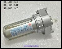1Pcs SL 300 3 8 BSP PNEUMATIC AIR FILTER REGULATOR BRAND NEW