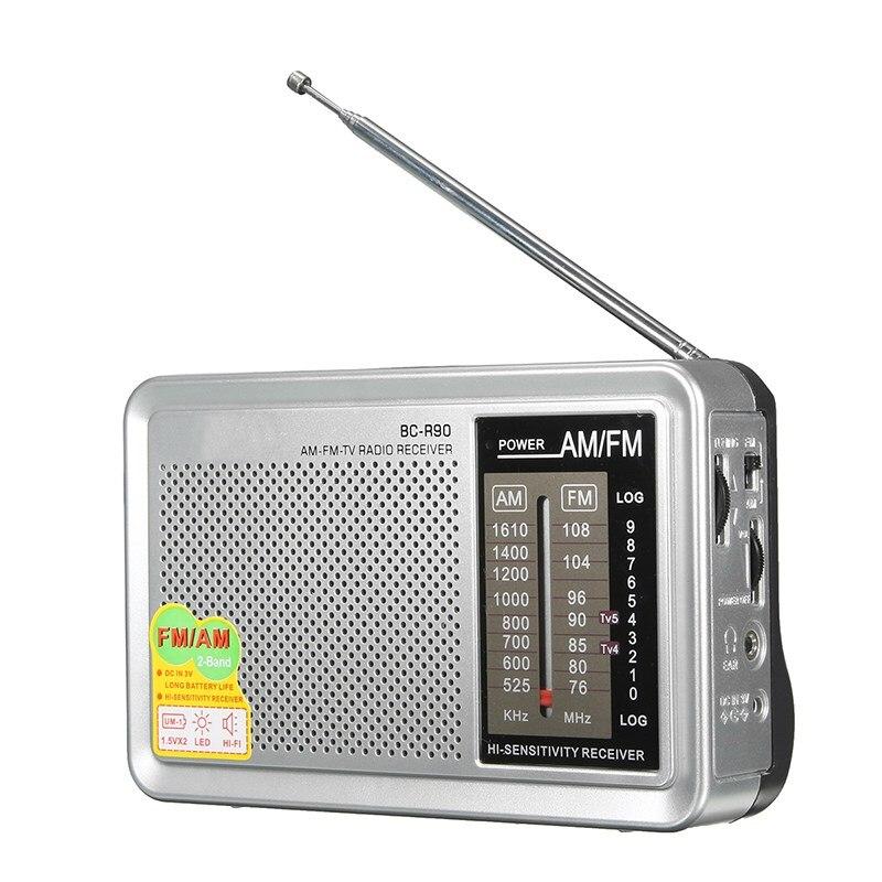 New Am Fm Radio Mini Protable Digital World Radio Receiver