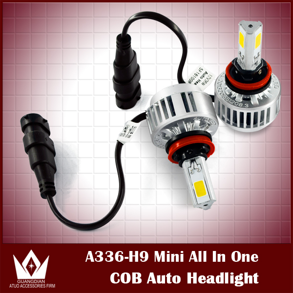 ФОТО Night Lord 2015 New Designcar automobiles 3300LM 36W 3000K 6000K H8/H9/H11 LED Headlight Auto COB LED Headlight all in one