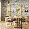 Beibehang Simulation Marble Stones Wallpaper Bar Chinese Restaurant Hotel Retro Brick Brick Culture Stone Wallpaper Papier