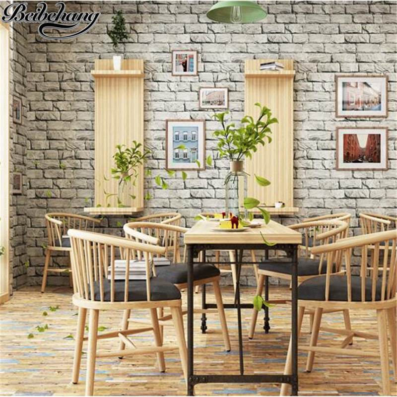 beibehang Simulation Marble Stones Wallpaper Bar Chinese Restaurant Hotel Retro Brick Brick Culture Stone Wallpaper papier peint beibehang 3d brick wallpapers antique brick brick wallpaper chinese nostalgia restaurant hotel backdrop retro vintage wallpaper