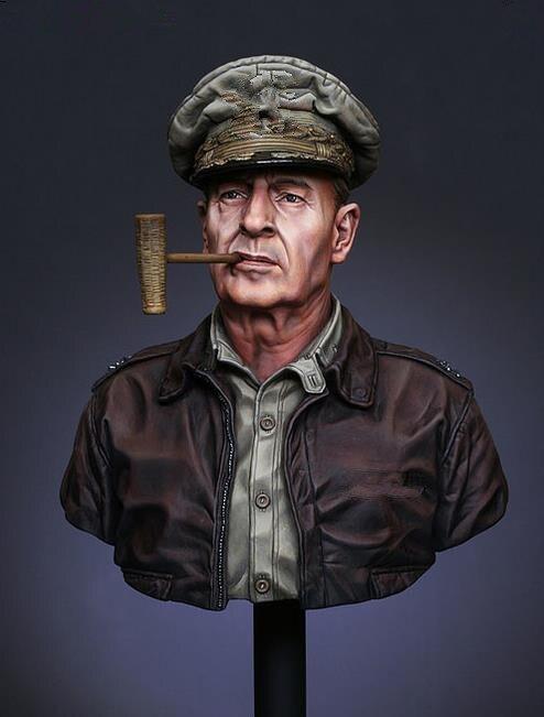pre order-Resin toys LM-B007 U.N. supreme commander Gen. Douglas MacArthur  Free shipping pre order resin toys  lm b016 jfk  the