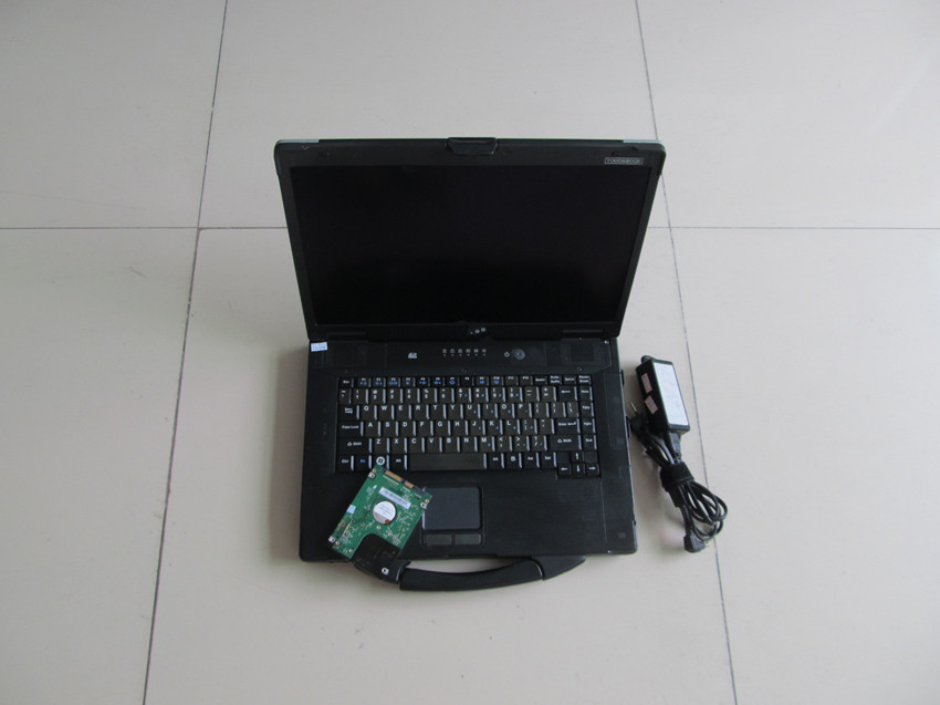 Zweite hand <font><b>tablet</b></font> auto diagnose computer toughbook cf-52 laptop <font><b>ram</b></font> 4g mit hdd 320gb festplatte software für mb star c4 c5 image