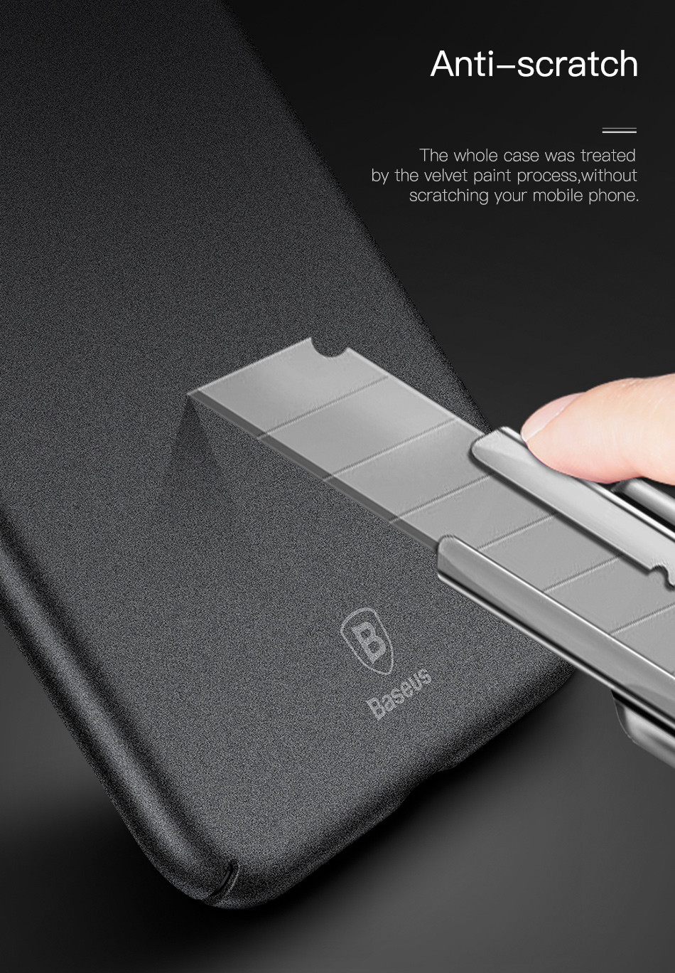 Custodia Impermeabile Samsung S4 Baseus Matte Custodia IPhone X 10