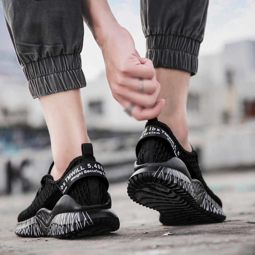 ฤดูใบไม้ร่วงรองเท้าผู้ชายรองเท้าผ้าใบตะกร้า Homme สบาย Trainers Chaussures Pour Hommes Sapato Masculino Krasovki 7 #3.5