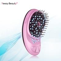Electric Ionic Hairbrush Negative Ions Hair Comb Hair Brush Modeling Styling Magic Hairbrush Nano Spray Hair brush Portable USB