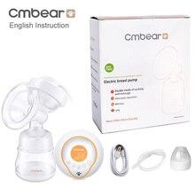 Cmbear большой всасывающий USB Электрический молокоотсос для кормления грудью Расширенный автоматический массаж Электрический молокоотсос детские бутылочки
