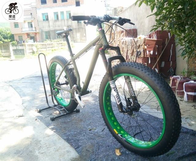 Kalosse playa bicicleta de montaña 26*17 pulgadas marco de aluminio ...