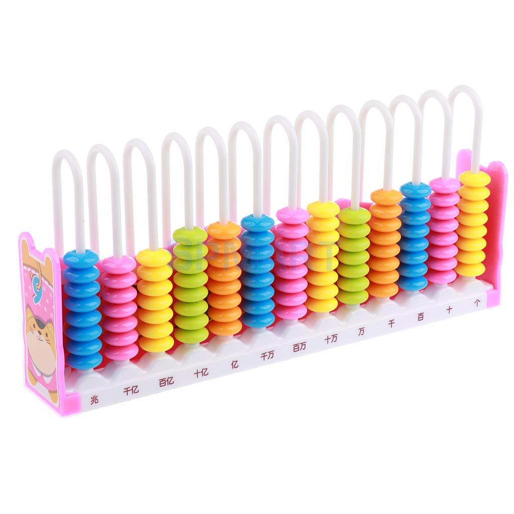 Dzieci/dziecko przedszkole 13 pręty 10 koraliki Arch kolorowe koraliki liczydło arytmetyka liczenie matematyka zabawka edukacyjna