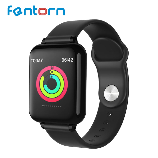 Fentorn 2019 Bluetooth Smart Watch Relogio Android SmartWatch Fitness Tracker Standby 25 Days Replacable Strap For Apple Phone