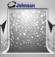 wall background High quality Computer print Snow Christmas Snowflakes Snowfall Neon Glittering Sparkling photo backdrop