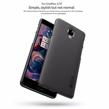 Oneplus 3 cover One plus 3t A3000 case NILLKIN Super Frosted