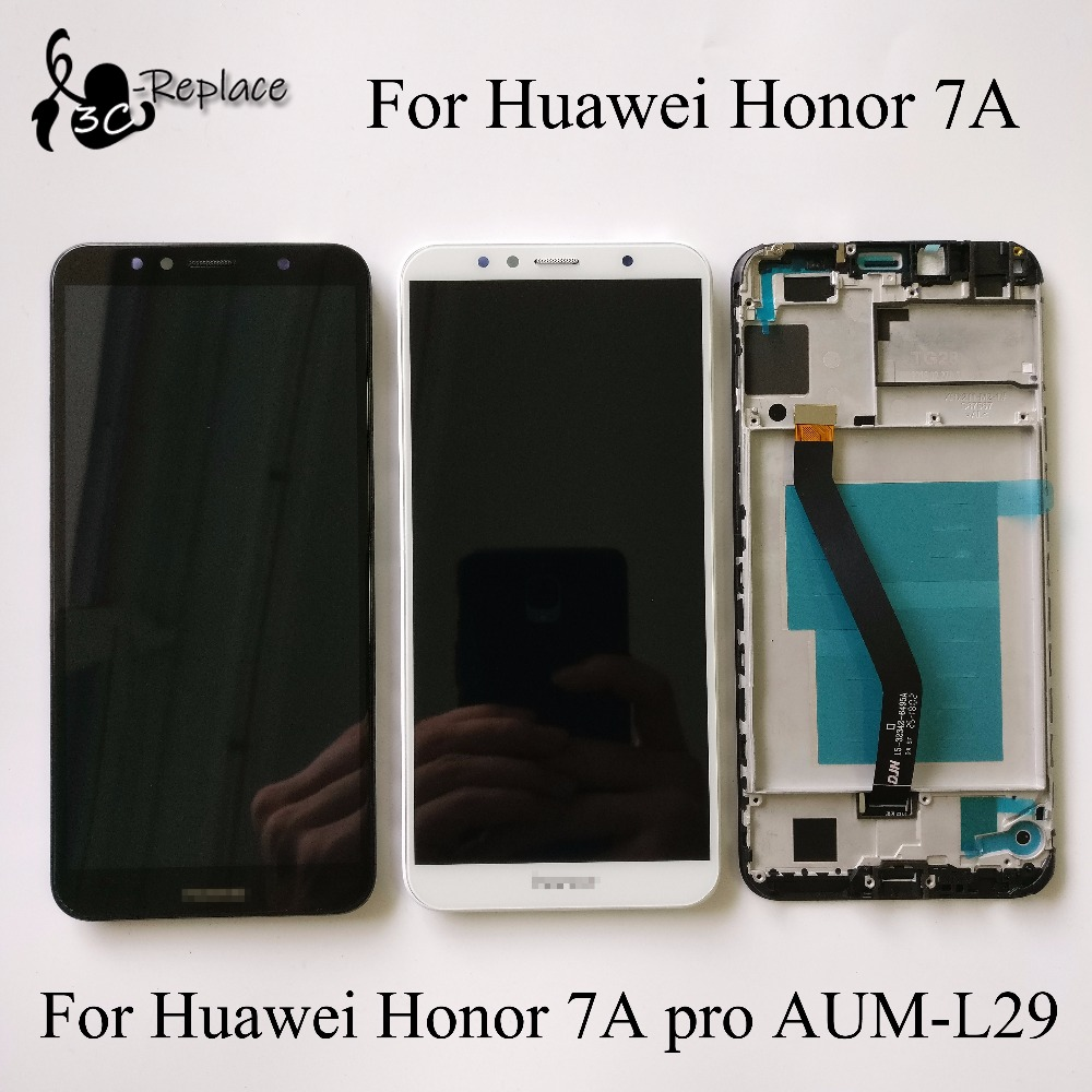 US $21.99 |5.7 For Huawei Honor 7A / Honor 7c / Honor 7A pro AUM L29 AUM L41 Full LCD DIsplay + Touch Screen Digitizer Assembly With Frame-in Mobile Phone LCDs from Cellphones & Telecommunications on Aliexpress.com | Alibaba Group