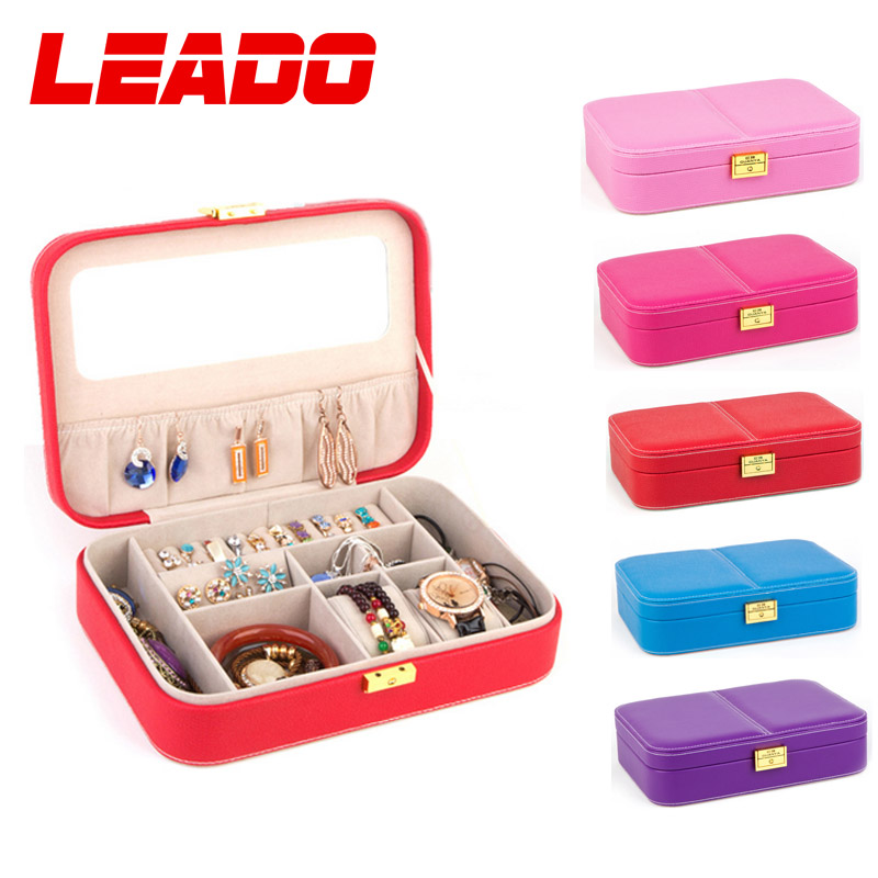 Jewelry Box Display Storage Organizer Watch Case Luxury Brand Gift Boxes  For Jewellery Holder With Pink Red Hot Sale LJ082 In Jewelry Packaging U0026  Display ...
