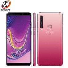 Новый samsung Galaxy A9s A9200 LTE мобильный телефон 6,3 «6 GB Оперативная память 128 GB Встроенная память Octa Core Четыре сзади Камера Android телефон с распознаванием отпечатка пальца