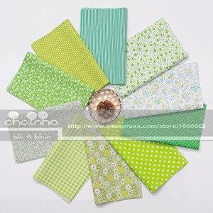 Image 2 - Random Thin Cotton Fabric Patchwork For Sewing Scrapbooking Fat Quarters Tissue Quilt Pattern Needlework Scraps 80pcs 20x24cm