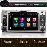 Android 7.1 Car DVD GPS Player for Hyundai Santa fe