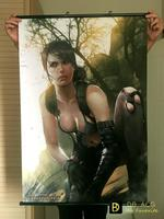 Metal Gear Solid 5 Quiet HD Game Scrolls Poster Bar Cafes Home Decoration Banners Hanging
