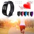 1 PC Esportes Pulseira Inteligente Pulseira Relógio Pedômetro Freqüência Cardíaca Aptidão Rastreamento 1 pc Para Mulheres Dos Homens