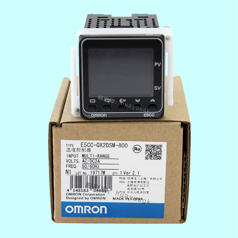New Original OMRON Electronic Thermostat Digital Regulator E5CC-RX2DSM-800/802 E5CC-QX2DSM-800/802 E5CC-CX2DSM-800/804 AC/DC24V