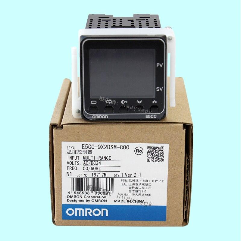 Nouveau régulateur électronique OMRON E5CC-RX2DSM-800/802 E5CC-QX2DSM-800/802 E5CC-CX2DSM-800/804 AC/DC24V